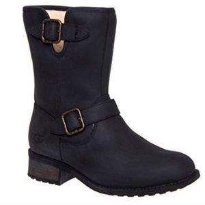 UGG Chaney Leather Moto Boot